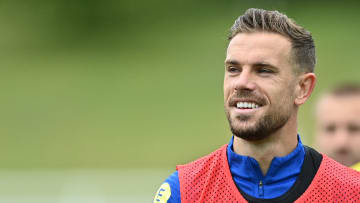 Jordan Henderson hasn't started for England at Euro 2020 yet but could be in contention to play versus Germany