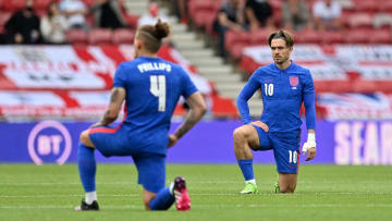 England players have been booed taking the knee