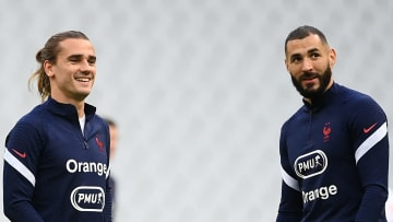 The pair have missed training recently