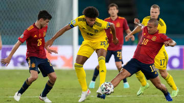 Spain and Sweden played out a 0-0 draw at the Euro