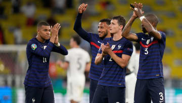 France are looking to book their place in the last 16