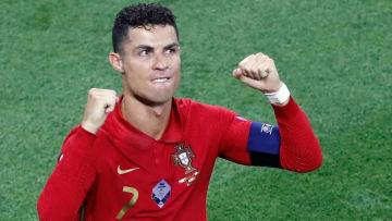 Cristiano Ronaldo finished UEFA EURO 2020 with five goals