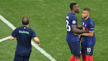 Mbappé a manqué l'ultime tir au but de la séance face à la Nati