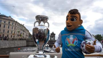 Skillzy, mascota de la Eurocopa