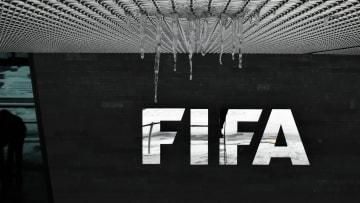 Ilustrasi logo FIFA