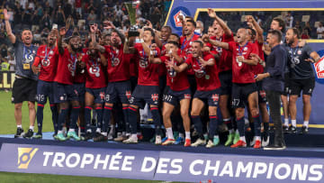 Lille beat PSG in the Trophee des Champions
