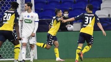 L'AS Monaco s'est qualifiée dans le dernier carré de la Coupe de France.