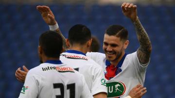 Icardi a inscrit un triplé contre Angers