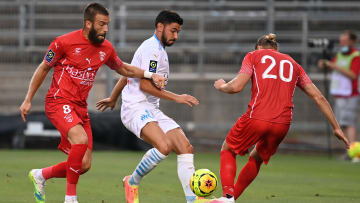 FBL-FRA-FRIENDLY-NIMES-MARSEILLE