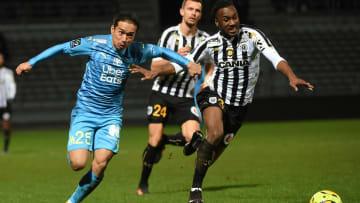 L'OM et Nagatomo ont perdu la première manche contre Angers (1-2).