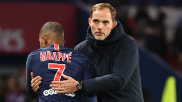 Mbappe and Tuchel enjoyed good times together at PSG