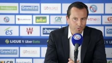 Julien Stephan en conférence de presse