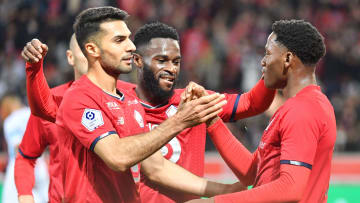 Jonathan David a inscrit le but victorieux de Lille contre l'OM (1-0).