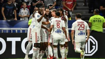 Belle victoire des Lyonnais face au Racing Club de Strasbourg au Groupama Stadium.