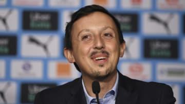 Pablo Longoria, le directeur du football de l'Olympique de Marseille.
