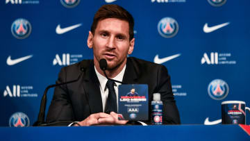 Lionel Messi has been unveiled as a PSG player