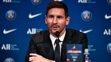 Messi foi apresentado nesta manhã de quarta-feira