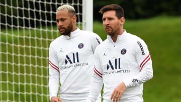 Messi et Neymar ne sont pas dans le groupe pour affronter Brest.