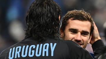 Antoine Griezmann n'a jamais caché son amour pour l'Uruguay.