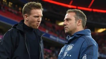Nagelsmann is apparently being lined up to replace the Bayern boss