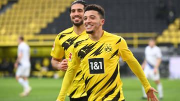Jadon Sancho has joined Man Utd