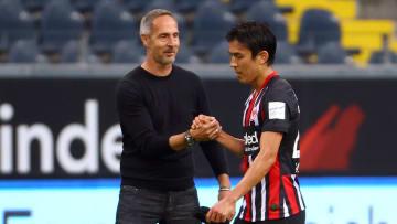 Adi Hütter lobt seinen ehemaligen Spieler