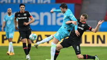 Lars Bender hatte sich gegen den VfL Wolfsburg am Knie verletzt