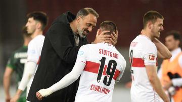Will die Saison positiv abschließen: Pellegrino Matarazzo (l.)