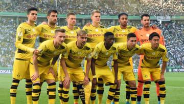 Marco Reus, Sokratis & Co. gewannen 2017 das DFB-Pokal-Finale