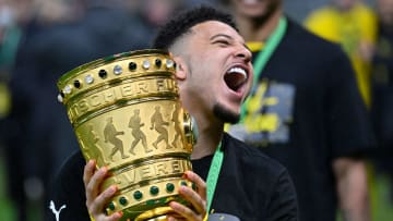 Jadon Sancho will be aiming to win more silverware at Old Trafford
