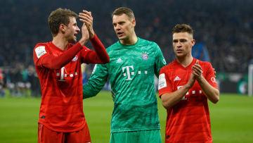 Die Bayern-Stars Manuel Neuer, Joshua Kimmich und Thomas Müller werden auch im DFB-Team eine Führungsrolle einnehmen.