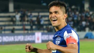 Sunil Chhetri signs new Bengaluru FC deal