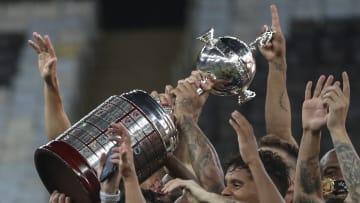 FBL-LIBERTADORES-PALMEIRAS-SANTOS - Palmeiras levantó la última Copa Libertadores.