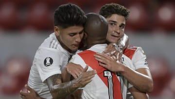 Carrascal, De la Cruz y Julián Álvarez, las jóvenes promesas de River