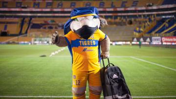 Mascota de los Tigres UANL.