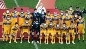 El equipo de los Tigres UANL en el Mundial de Clubes.