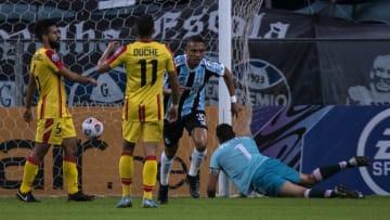 Grêmio aplicou 8 a 0 no Aragua pela Copa Sul-Americana