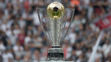 Süper Lig şampiyonuna verilen kupa