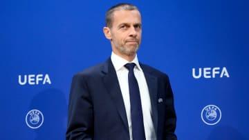 UEFA president Aleksander Ceferin is not backing down