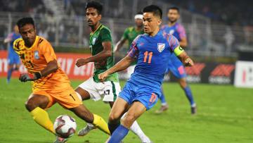 Sunil Chhetri has spoken up after his brace against Bangladesh