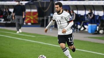 Amin Younes bei seinem Comeback für das DFB-Team
