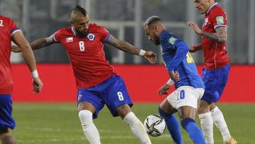 Vidal vs Brasil