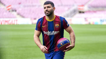 Sergio Aguero has picked up a calf injury