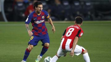 Lionel Messi, Unai Lopez