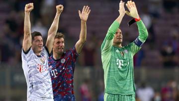 Lewandowski y Müller le tienen cogida la matrícula al Barça