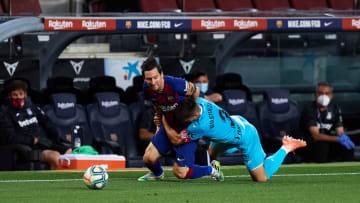 Unai Bustinza, Lionel Messi