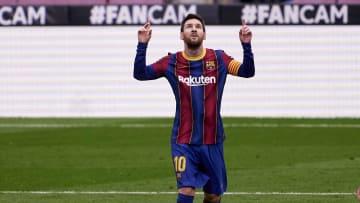 Messi verwandelte seinen Elfmeter gegen Cadiz sicher