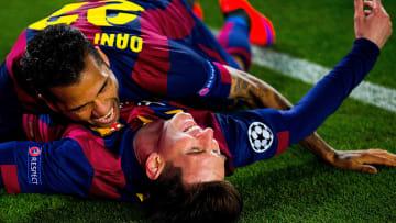 Dani Alves y Leo Messi, una dupla única en la historia del fútbol