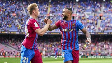 Memphis Depay y Frenkie De Jong son los mejores jugadores del Barcelona en este inicio de temporada