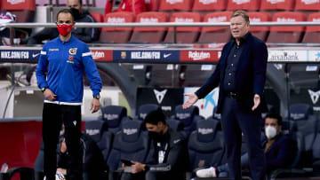 Ronald Koeman faces an uncertain future at Barcelona